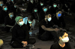 Tahran halkının 6. gece Muharrem merasimi