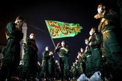 مراسم العزاء الحسيني في جامعة الامام حسين (ع) للضباط / صور