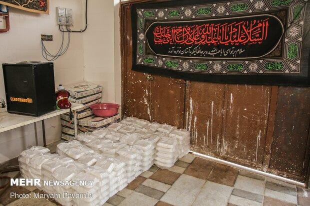 اطعام حسینی هیئت دانشجویی فاطمه الزهرا(س) دانشگاه پیام نور بجنورد