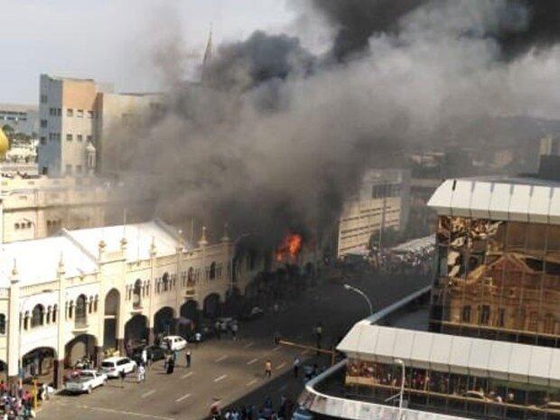 جنوبی افریقہ کی 139 سال پرانی مسجد میں آگ لگ گئی