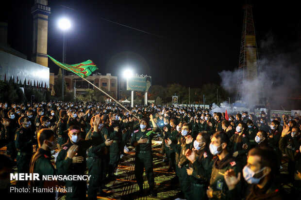 6th night of Muharram mourning in Imam Hussein University
