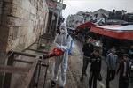 Gazze'de her üç Kovid-19 testinden biri pozitif çıkıyor