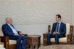«فالح الفیاض» نامه «الکاظمی» را به رئیس جمهور سوریه تحویل داد