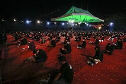 انجمن عبداللہ بن حسن کی طرف سے محرم کی چھٹی شب میں عزاداری