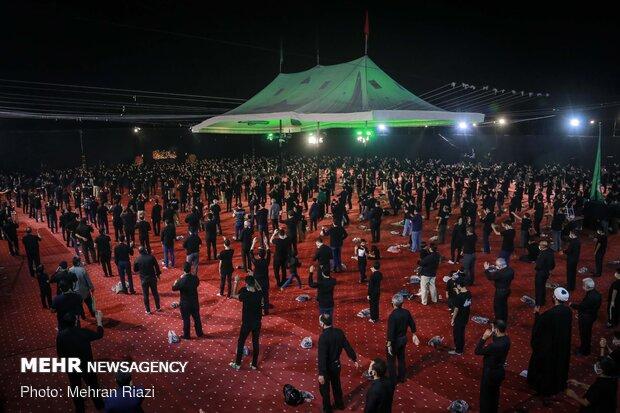 6th night of Muharram mourning in Tehran