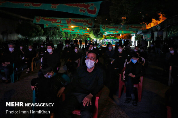Muharram ceremonies in Hamedan under pandemic