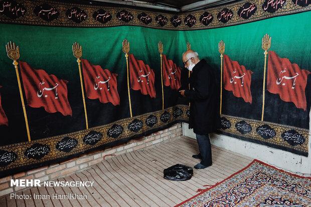 Hemedan kentindeki Muharrem merasiminden fotoğraflar