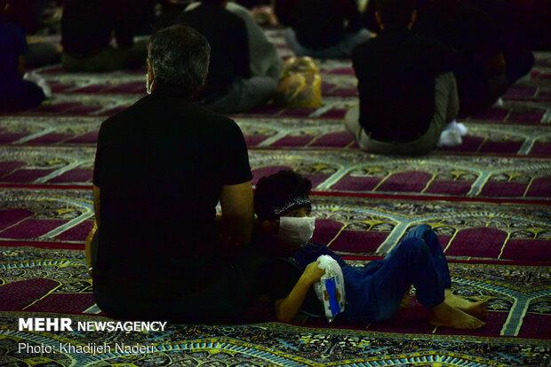 عزاداری شب ششم محرم در مسجد جامع اصفهان