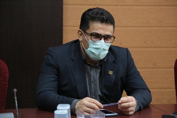 شیب بیماری کرونا در استان بوشهر کاهشی شده است
