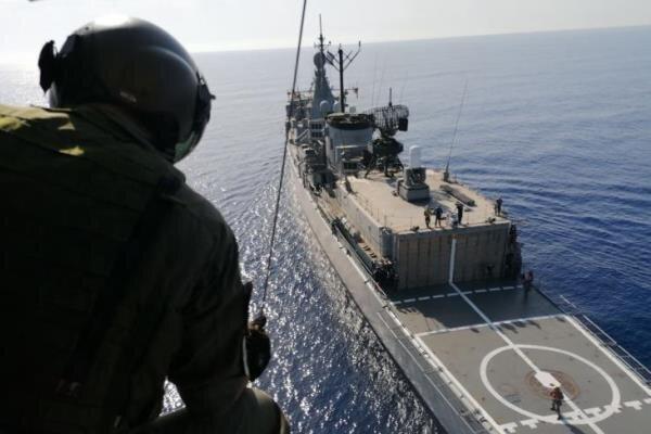 Suudi kuvvetleri, Girit Adası'nda