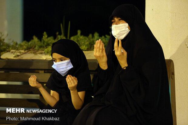 6th night of Muharram mourning in Kish