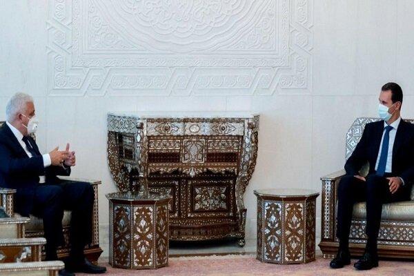 ماذا كان فحوى رسالة الكاظمي الى الرئيس السوري؟
