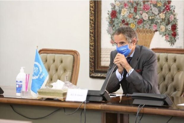 IAEA chief leaves Tehran for Vienna