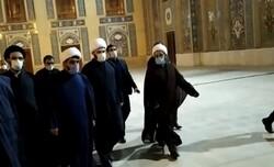 حضور رییس سازمان تبلیغات اسلامی در حرم شاهچراغ(ع)
