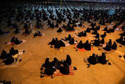 عزاداری شب هفتم محرم در هیئت ریحانه الحسین(ع)