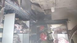 آتش سوزی در یک مغازه در بازار تهران/آتش کمتر از ۴۰ دقیقه خاموش شد