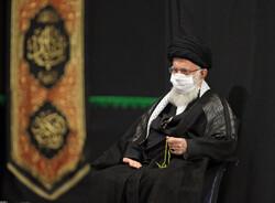 Ayetullah Hamenei'nin huzurunda matem merasimi düzenlendi