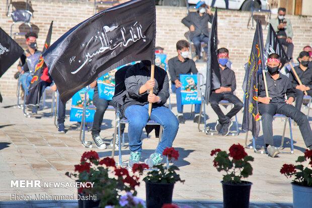 Teens in Ardabil mourn in memory of Hazrat Qasim ibn Hassan