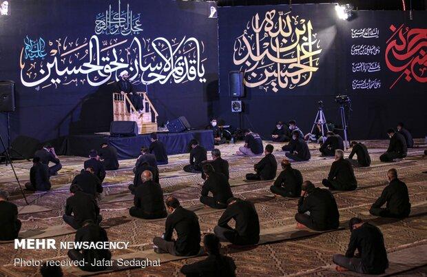 7th night of Muharram in Larestan