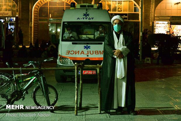 عزاداری شب هفتم محرم در نقش جهان