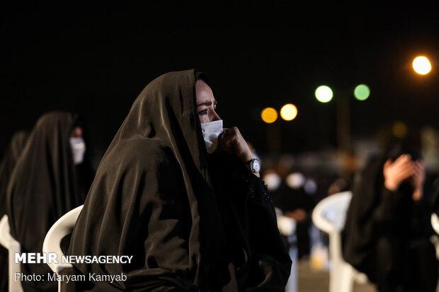 عزاداری شب هفتم محرم در هیات ریحانه الحسین(ع)