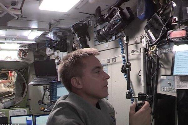 دانش آموزان کانادایی با خدمه ایستگاه فضایی بین المللی تماس گرفتند
