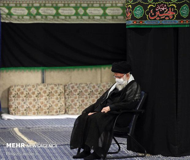 8th night of Muharram marked with Ayatollah Khamenei's presence