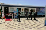 قطار مسافربری پنج ستاره اراک- تهران- مشهد راهاندازی شد