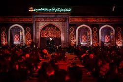 Tahran'daki 8. gece Muharrem merasimleri