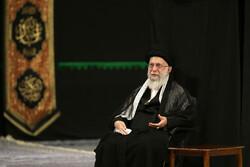 حسینیہ امام خمینی (رہ)  میں نویں محرم کی شب میں مجلس عزا منعقد