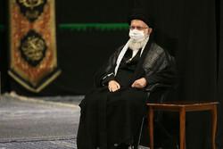 مراسم العزاء الحسيني في ليلة تاسوعا بحضور قائد الثورة / صور