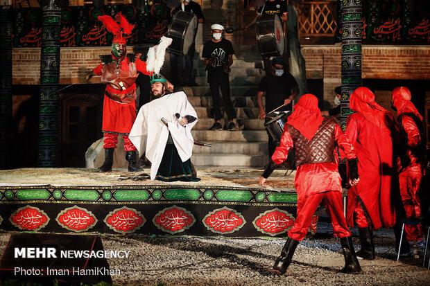 Ta'zieh performance in Hamedan