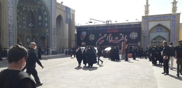 People in Zanjan hold Tasu'a mourning ceremonies