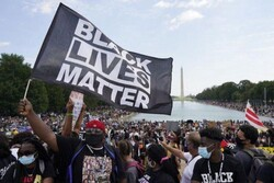 Thousands of protesters hold anti-racism march in Washington