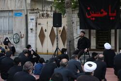روضه ساده در محله اراج تهران