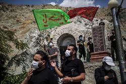 عزاداری تاسوعای حسینی در کهف الشهدا تهران