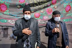 عزاداری تاسوعای حسینی در ورزقان