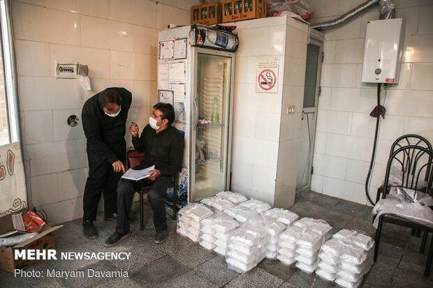 توزيع الطعام للفقراء حباً للحسين (ع)