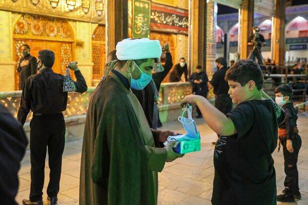 ۱۰۰ هزار ماسک بین هیئتهای مذهبی استان بوشهر توزیع شد