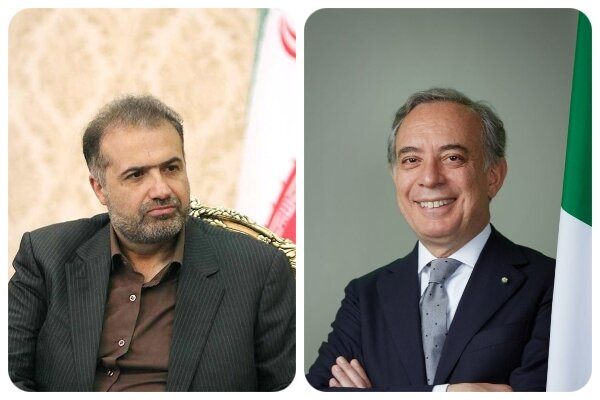 Iran, Italy discuss expansion of ties