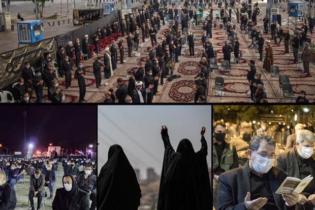 عزاداری تاسوعا در استانها/ بعد عباس دگر آب سراب است، سراب!