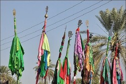 روستا به روستا با یک علم/ سنت تاریخی ادامه یافت