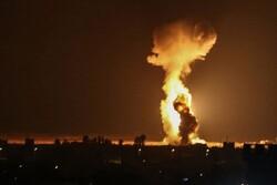 """الكيان الصهيوني يواصل استهداف حركة المقاومة الاسلامية """"حماس"""""""