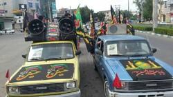 کاروان خودرویی «حرم تا حرم» در آمل