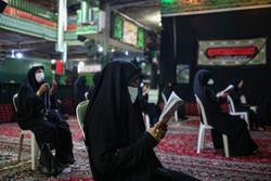 گلستان در روز عاشورای حسینی غرق ماتم و اندوه شد