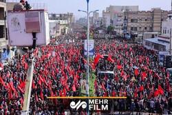 تجمع صدها هزار یمنی در صنعاء به مناسبت روز عاشورا