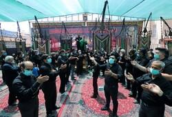 اجتماع عاشورایی  نصفجهان در میدان امام علی (ع) + تصاویر