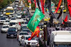 خودرو پیمایی عاشورا حسینی در شیراز