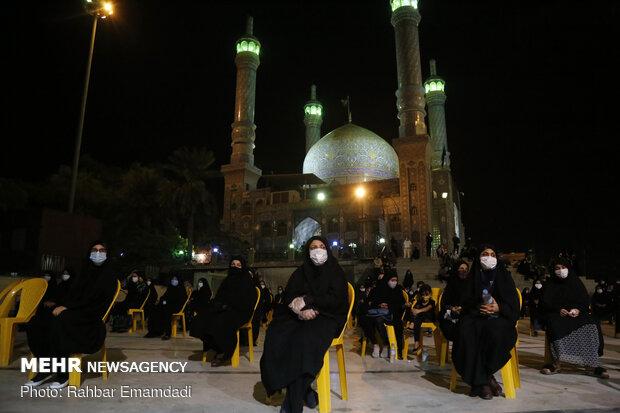 عزاداری شب عاشورا در امامزاده سید مظفر(ع) بندرعباس