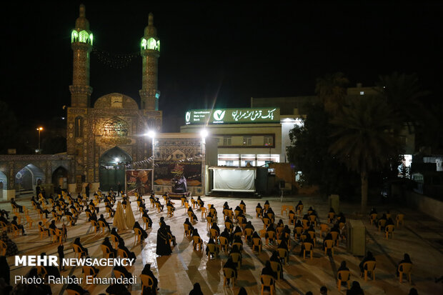 Mourning rituals held in Bandar Abbas on Tasua night